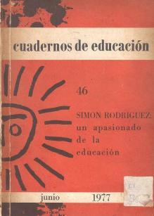 Simón Rodríguez, un apasionado de la educación
